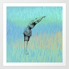 Swimmer ~ The Summer Series Art Print