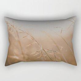 Golden Sun Rectangular Pillow