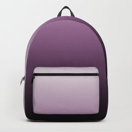 Purple , ink , viola , gradient , Ombre Backpack