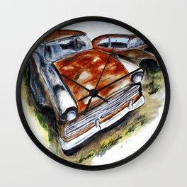 Junk Car No. 10 Wall Clock