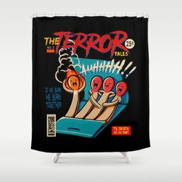 Death Match Shower Curtain