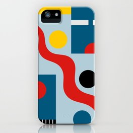 SWIMMERS IN WEIMAR iPhone Case