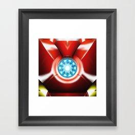 Ironman Body Armor Framed Art Print