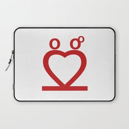 Two Love Laptop Sleeve