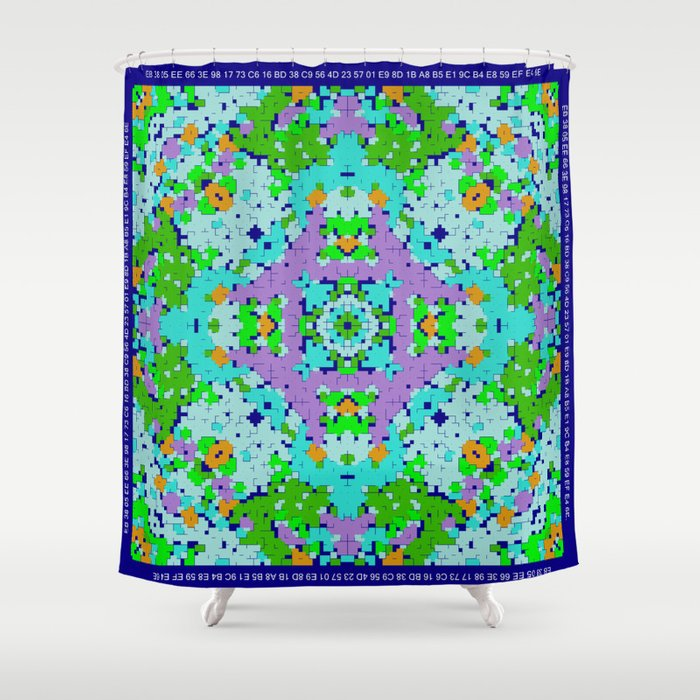 """""""Spring"""" series #10 Shower Curtain"""