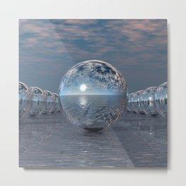 Spheres In The Sun Metal Print