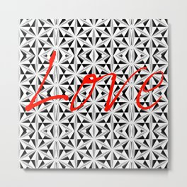 Seven AM Love Metal Print