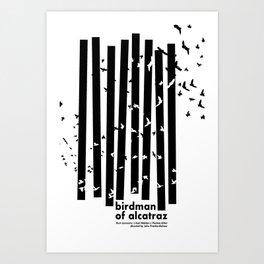 Birdman of Alcatraz Art Print