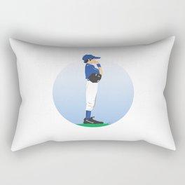 Baseball Blue Boy Rectangular Pillow