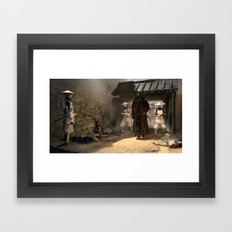 Lord Vader and his troops Framed Art Print