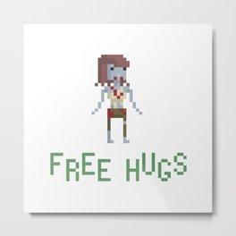 free hugs 3 Metal Print
