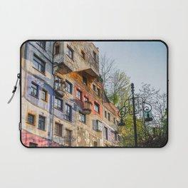 Hundertwasserhaus Vienna Austria Laptop Sleeve
