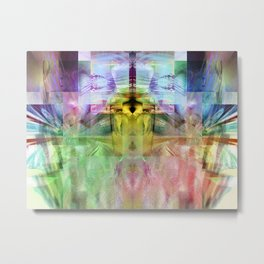 mixed all into one I Metal Print