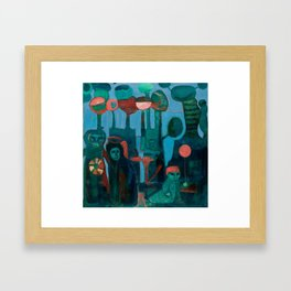 Mai Tai Hang Over Framed Art Print