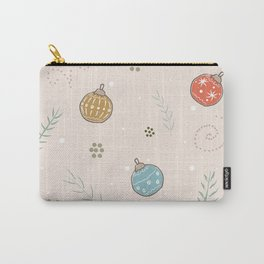 Winter Ornaments Carry-All Pouch