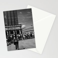 Visiting St Mark's Basilica Stationery Cards