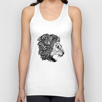 leon Tank Tops featuring Leon by Artful Schemes