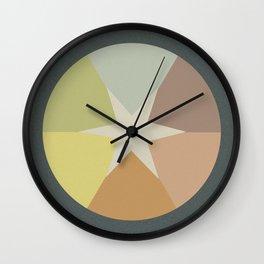 Off-Aligned Babbitt Star Wall Clock