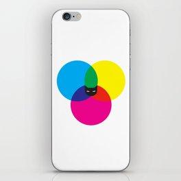 CMYKAT iPhone Skin