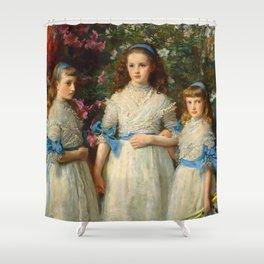 "John Everett Millais ""Sisters"" Shower Curtain"