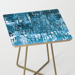 Circuitry Abstract Side Table