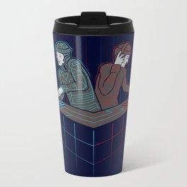 Techno-Tron-ic Metal Travel Mug