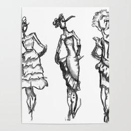 Fashion Strut Poster