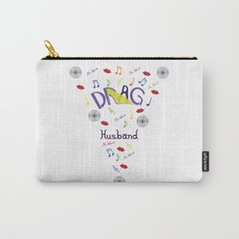 Drag Husband Carry-All Pouch