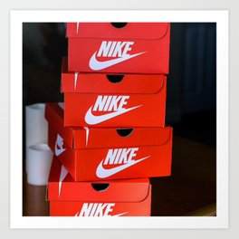 Nike Art Print