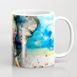 RAINBOW ELEPHANT WATERCOLOR Coffee Mug