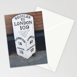 English Milestone Stationery Cards