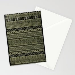 Harry Tribal Print Potter - Hallows Yellow Stationery Cards