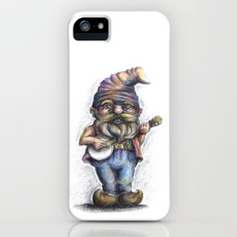 Hillbilly Gnome iPhone Case