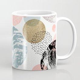 Circles texture Coffee Mug