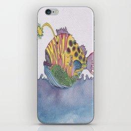 rem fish iPhone Skin