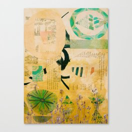 Spring Fields Collage Canvas Print