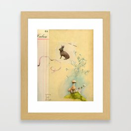 You are all I am Framed Art Print