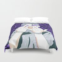 ape Duvet Covers featuring Keith Ape by TecTecBeurk