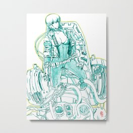 Ghost in the Shell 03 Metal Print
