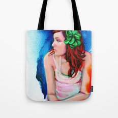 A New Dawn Digital Painting Tote Bag