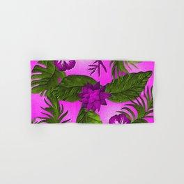 Tropical in Purple Hand & Bath Towel