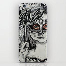 The Masks We Wear iPhone Skin