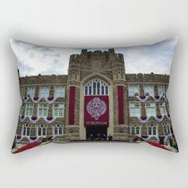 Fordham University Commencement Keating Hall Rectangular Pillow