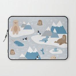 Arctic animals Laptop Sleeve