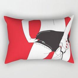 You said you'd love me forever... Rectangular Pillow