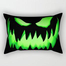 Evil Green ghost Rectangular Pillow