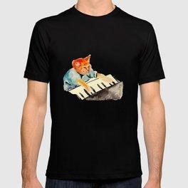 watercolour keyboard T-shirt