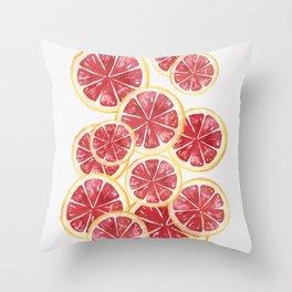 Grapefruits Throw Pillow