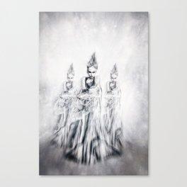 Yuki-Onna Canvas Print