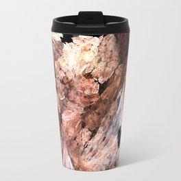Abstract Almond  Travel Mug